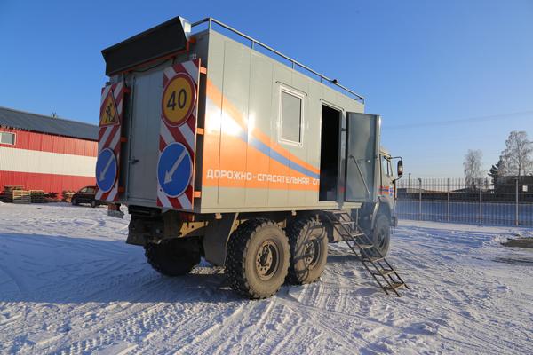 На Алтае появился КАМАЗ для помощи водителям