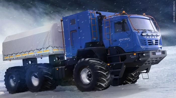Представлен новый «КАМАЗ-Арктика»