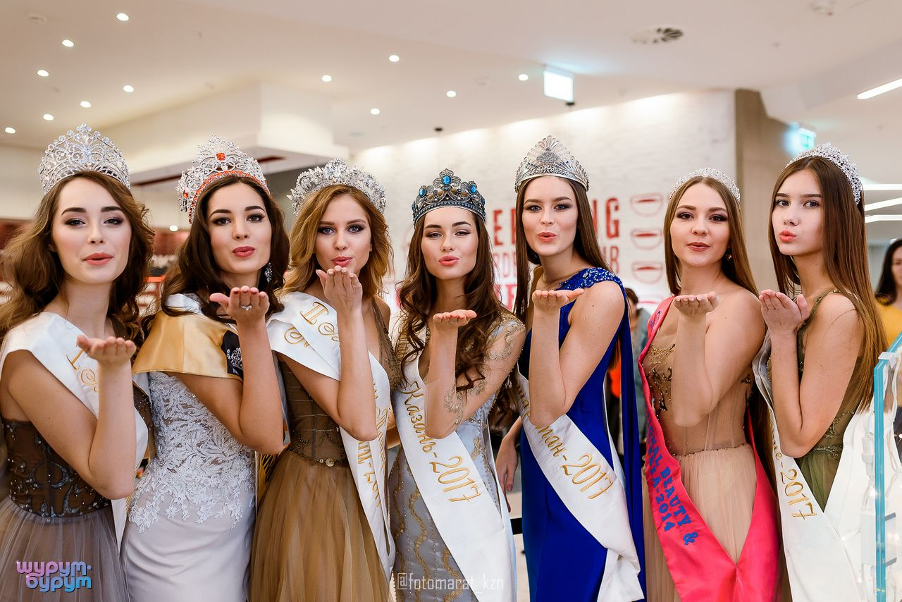 Казань с девушками картинки