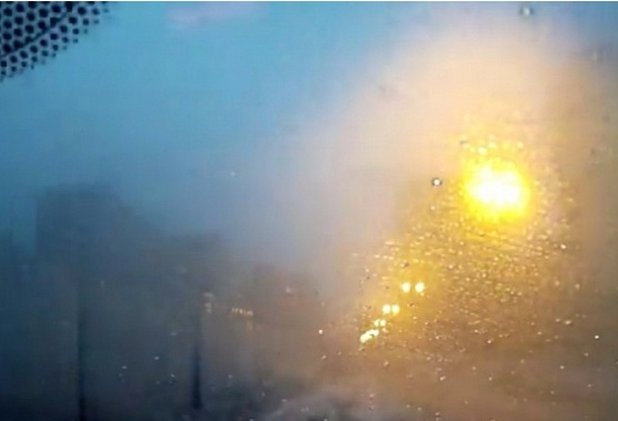 В небе над Челнами произошла загадочная вспышка