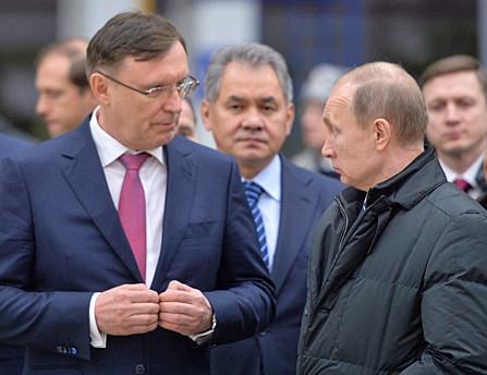 Сергей Когогин возглавил предвыборный штаб Владимира Путина
