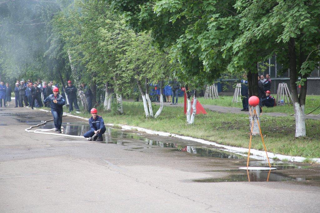 Смотр-конкурс пожарной безопасности на Кузнечном заводе ПАО «КАМАЗ»