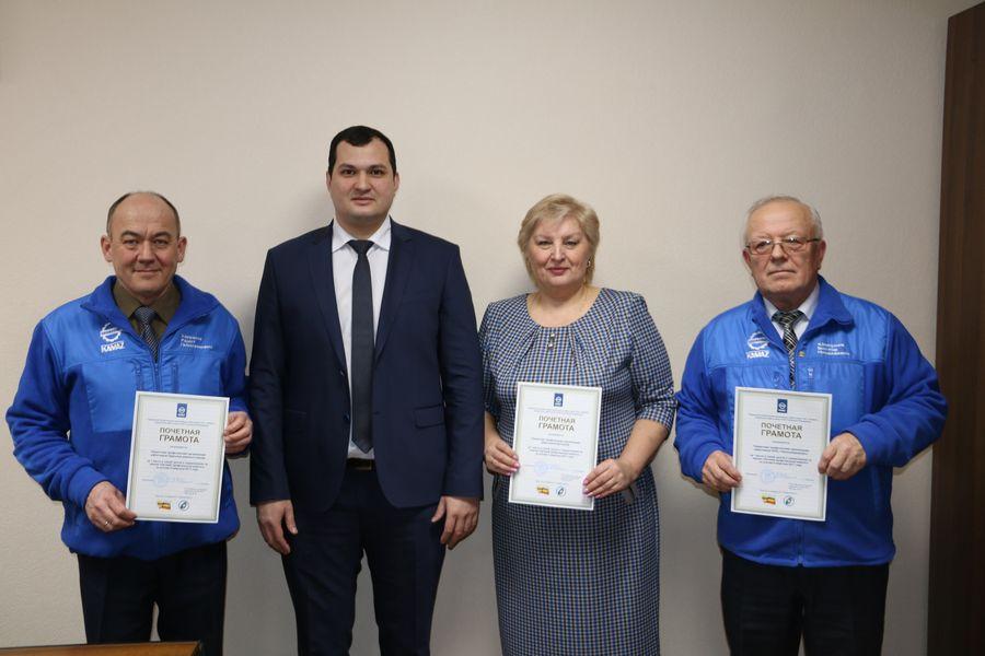 Лучший профсоюзный комитет ПАО «КАМАЗ» по итогам IV квартала 2017 года