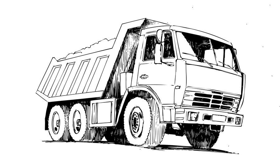 КАМАЗ-65115 в графике!