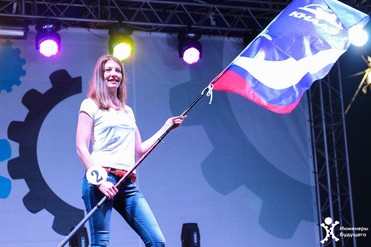 Девушка с «КАМАЗа» завоевала симпатии зрителей