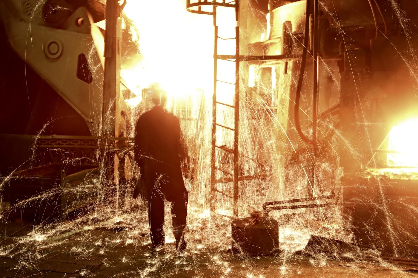 Кадр дня: Литейный завод ПАО «КАМАЗ». Печь выдержки металла