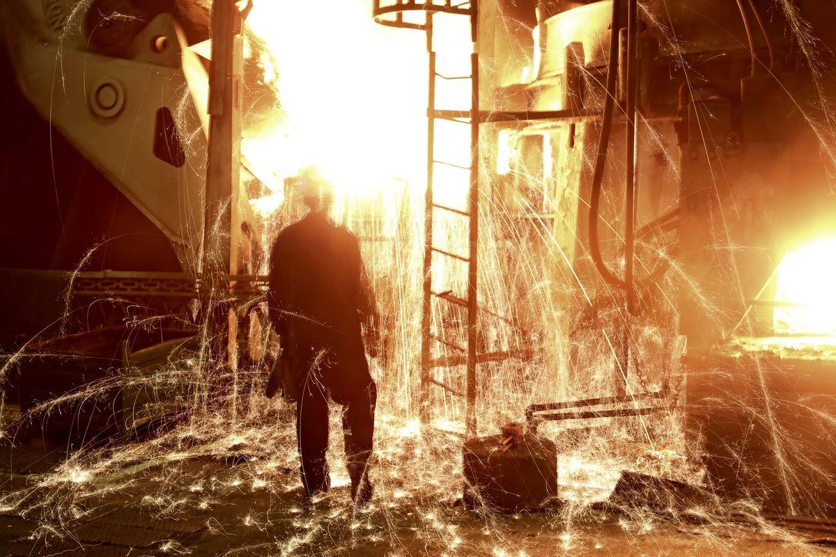 Литейный завод ПАО «КАМАЗ». Печь выдержки металла