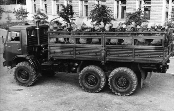 КАМАЗ-4310 на службе в СА
