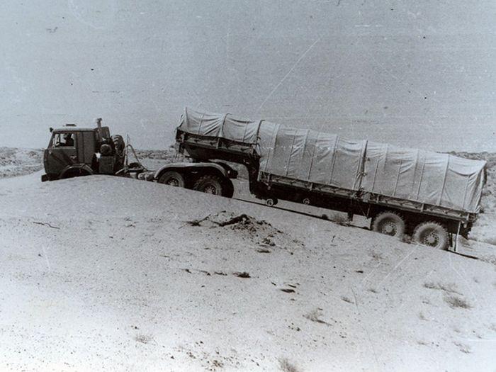 Полевые испытания автомобиля КАМАЗ-43102
