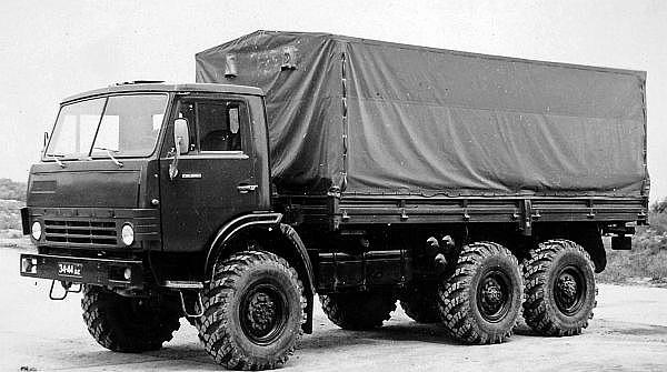 Многоцелевой грузовик КАМАЗ-43105, 1984 г.