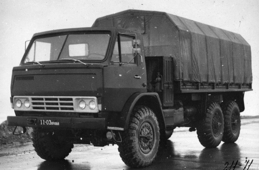 Прототип автомобиля КамАЗ-4310, 1970 г.