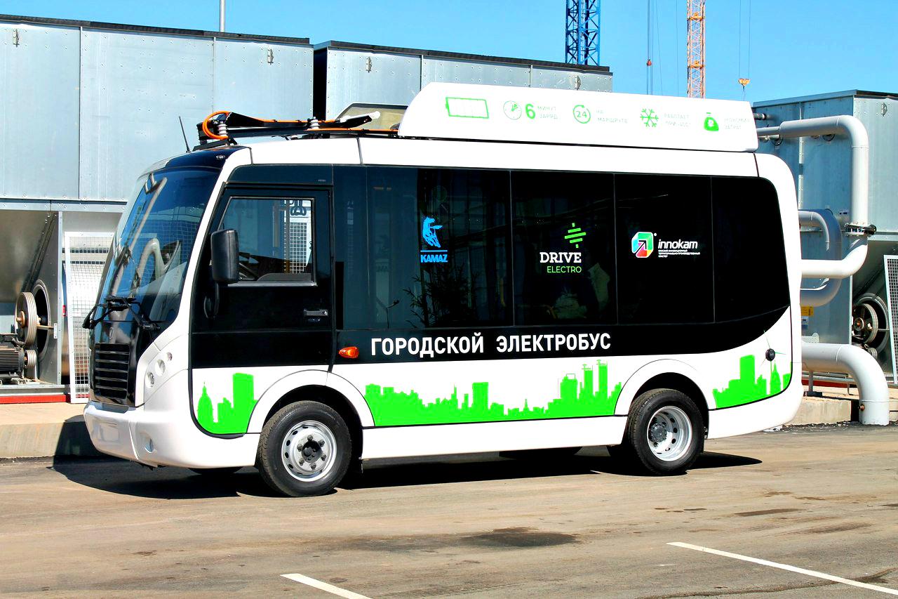 Крымский городской электробус от «КАМАЗа»
