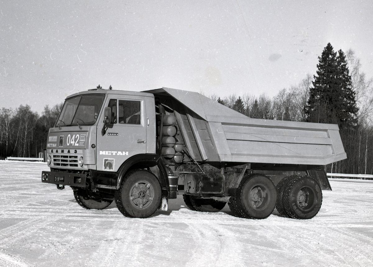 Газобаллонный самосвал КАМАЗ-55118, 1986 г.