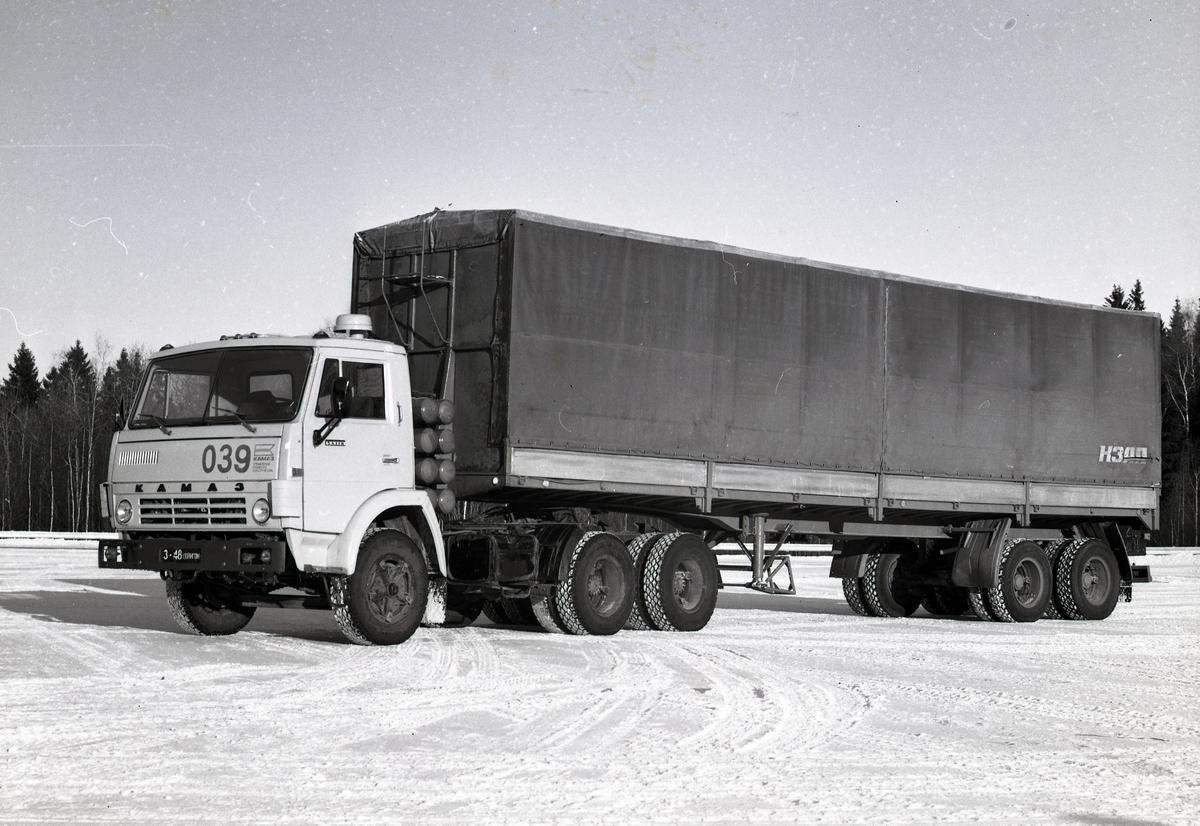 Газобаллонный седельный тягач КАМАЗ-54118, 1986 г.
