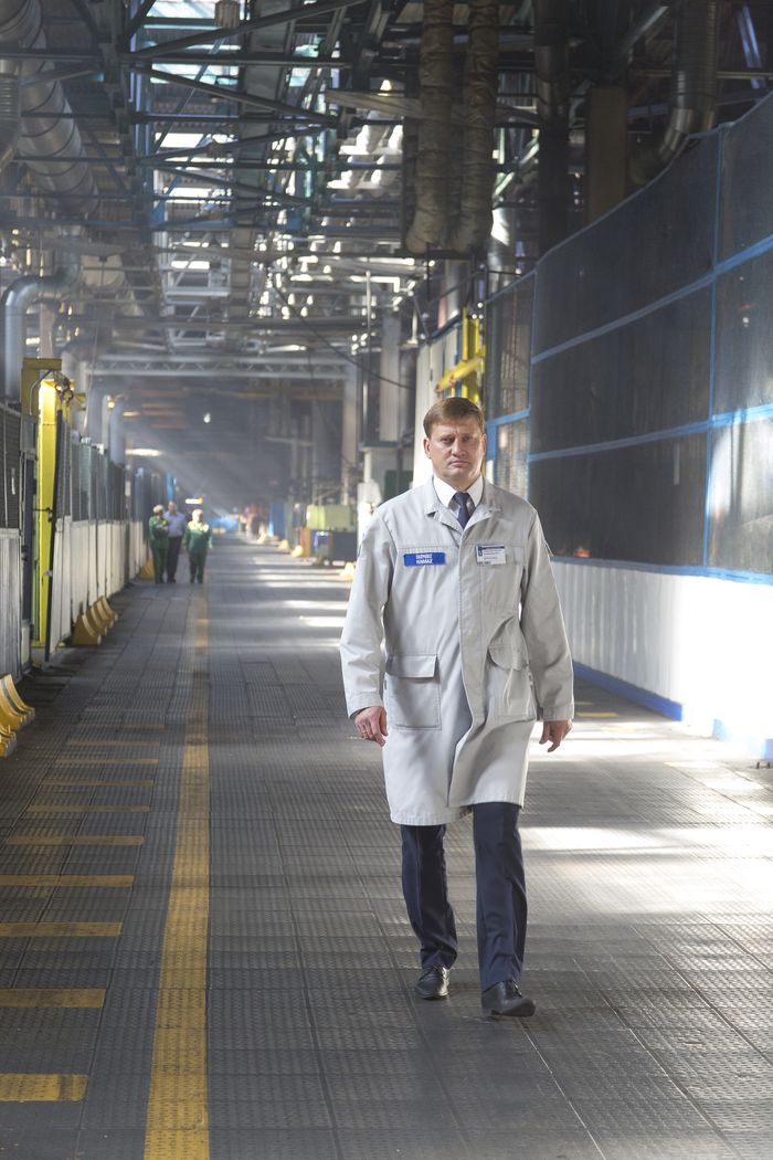 Сергей Снарский, директор Завода двигателей