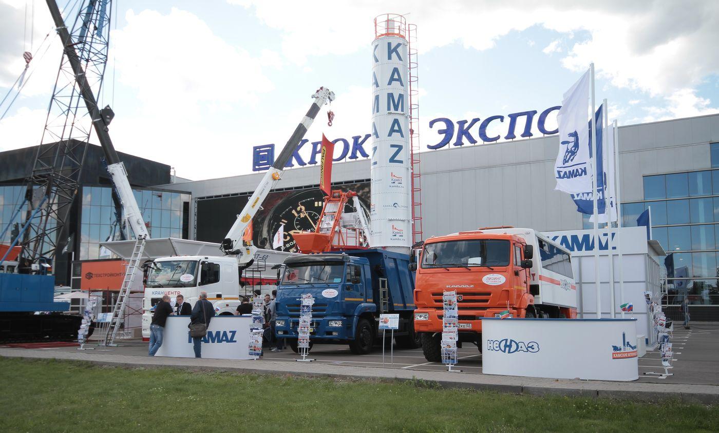 «КАМАЗ» на выставке «СТТ-2015»