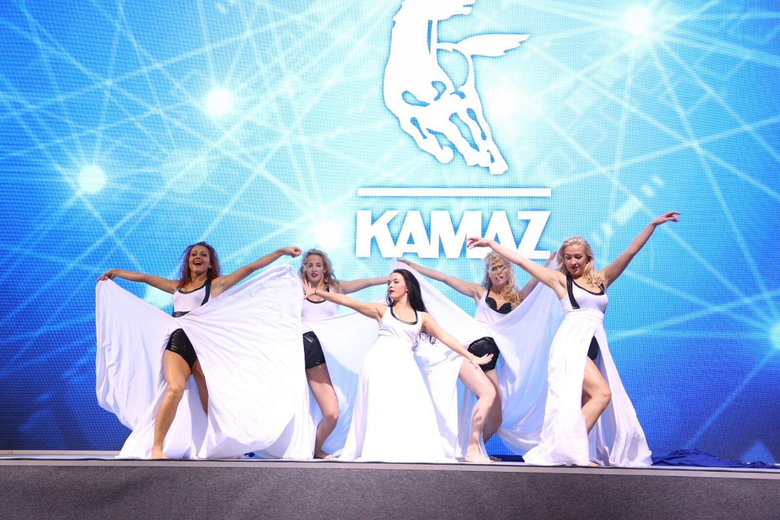 «КАМАЗ» на «КОМТРАНС-2015». Технологии и Красота!