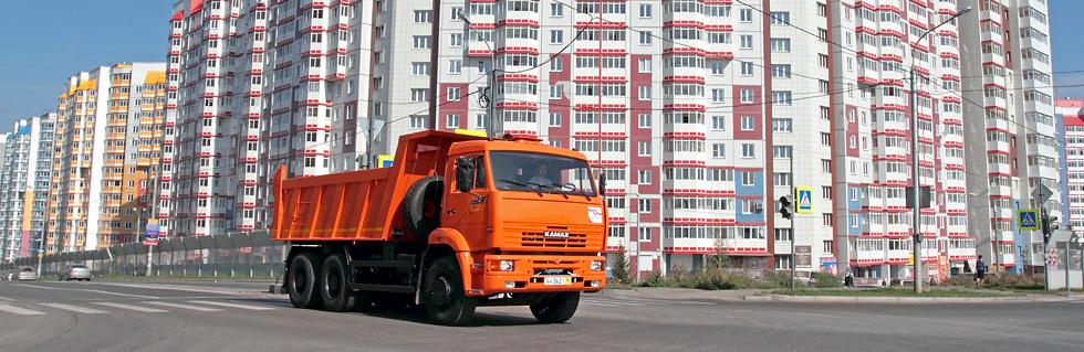 КАМАЗ - самый покупаемый грузовик, по данным «Автостат Инфо»
