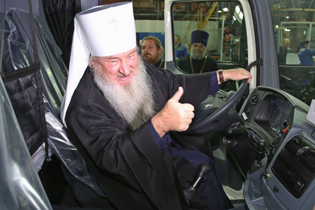 «ВПЕРЁД, РОССИЯ НА КАМАЗАХ!»