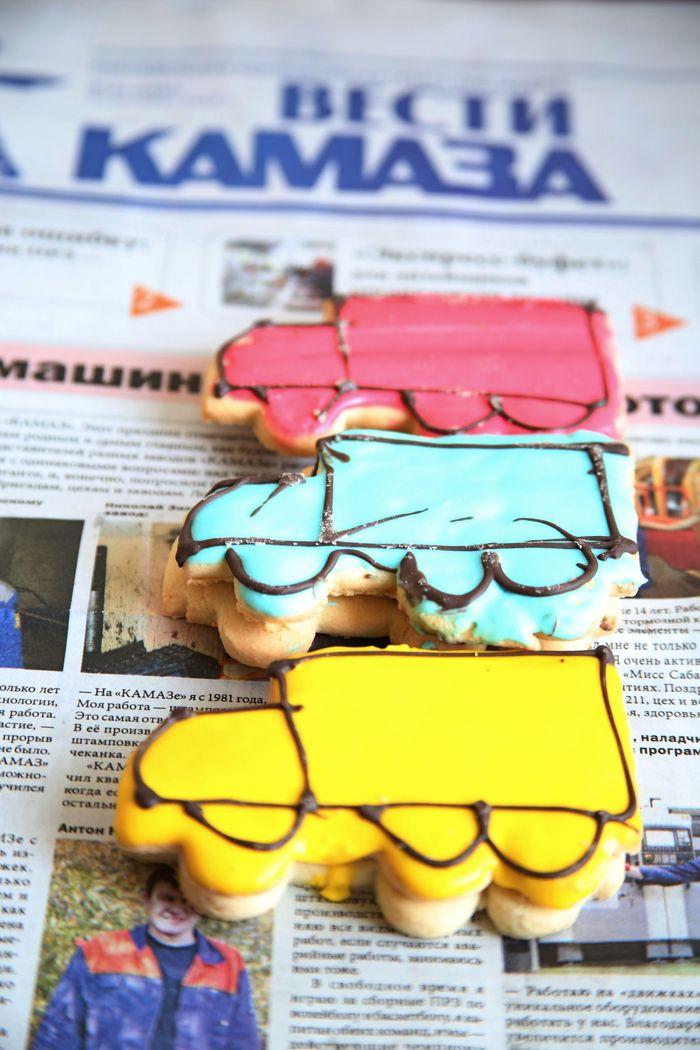 Фото дня: КАМАЗы <s>пряников</s> пирожных