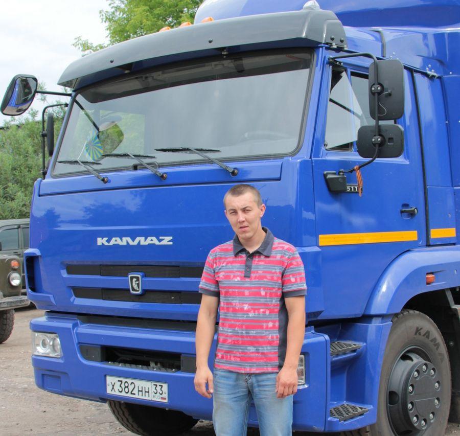 Валерий Кузнецов, водитель почтового фургона
