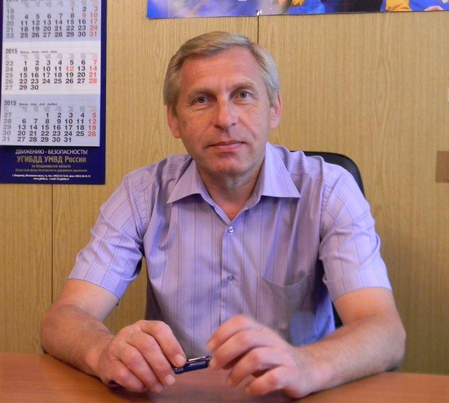 Александр Сверкунов, руководитель автобазы УФПС Владимирской области
