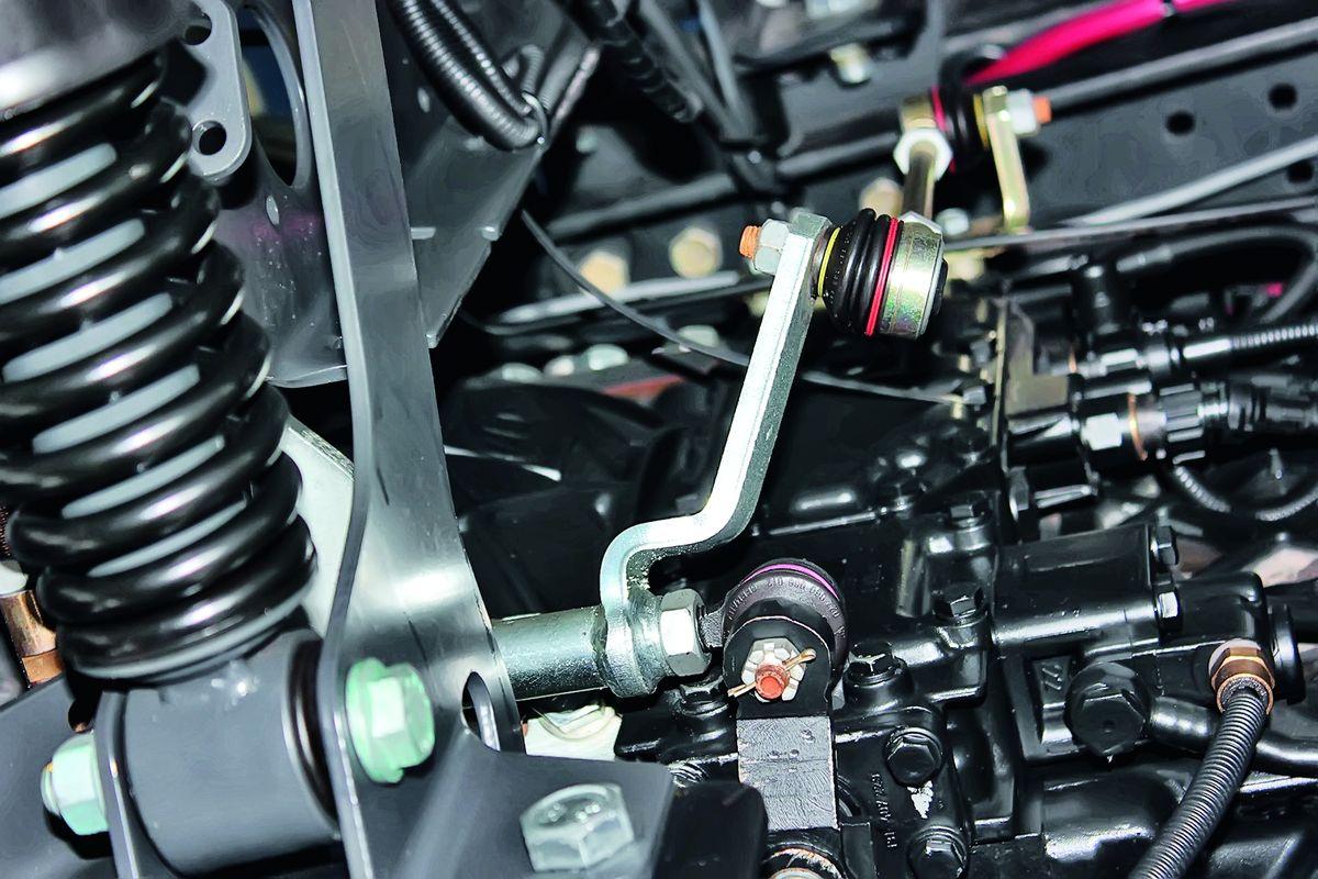 Тяги кулисы привода коробки передач, качество исполнения шарниров и пыльников – значительный шаг вперёд!