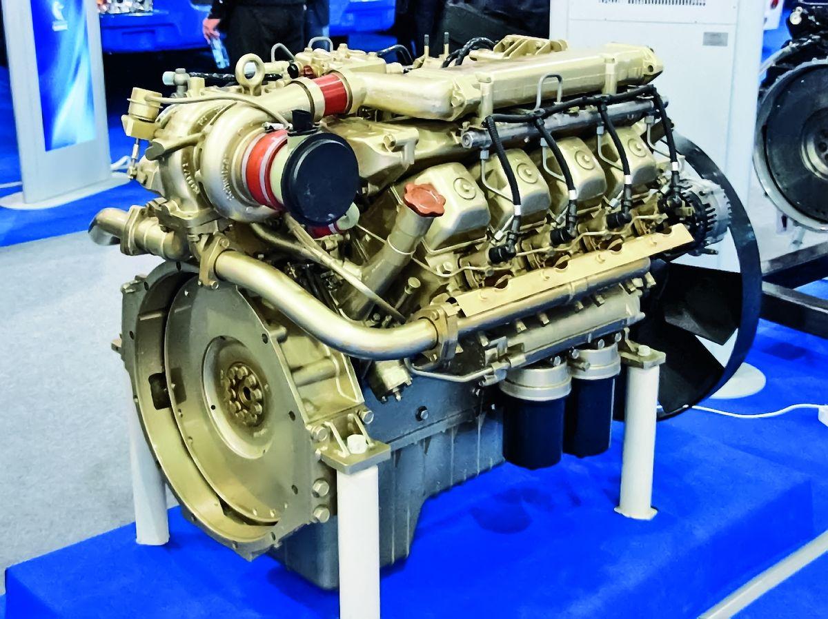 Двигатель КАМАЗ-740.73-400