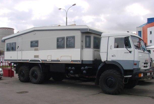 КАМАЗ – дом на колёсах