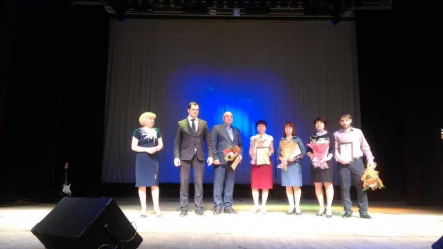 Праздничный концерт для членов профсоюза ТЗА