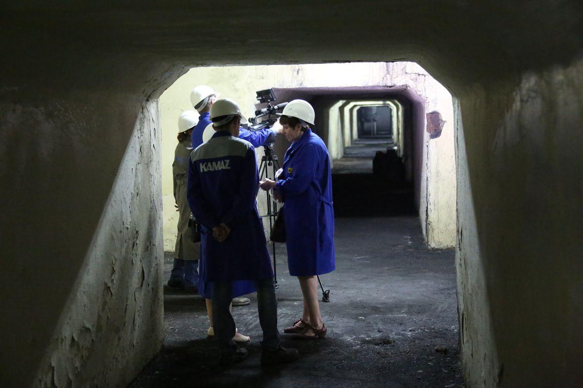 Фото дня. В подвалах Кузнечного завода ПАО «КАМАЗ»