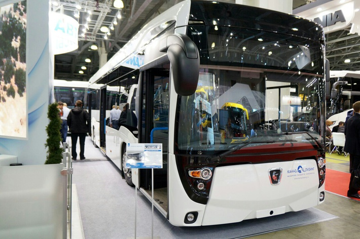 «КАМАЗ» НА ВЫСТАВКЕ «BUS WORLD RUSSIA-2016»