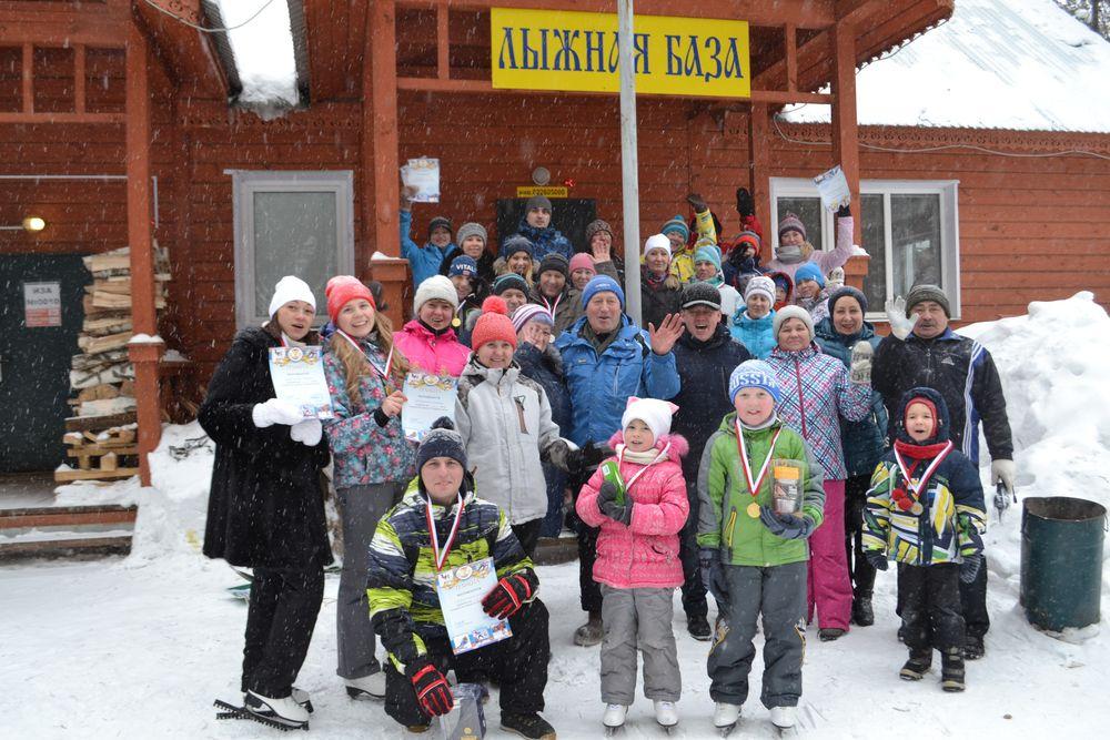 Первенство по лыжным гонкам Прессово-рамного завода ПАО «КАМАЗ»