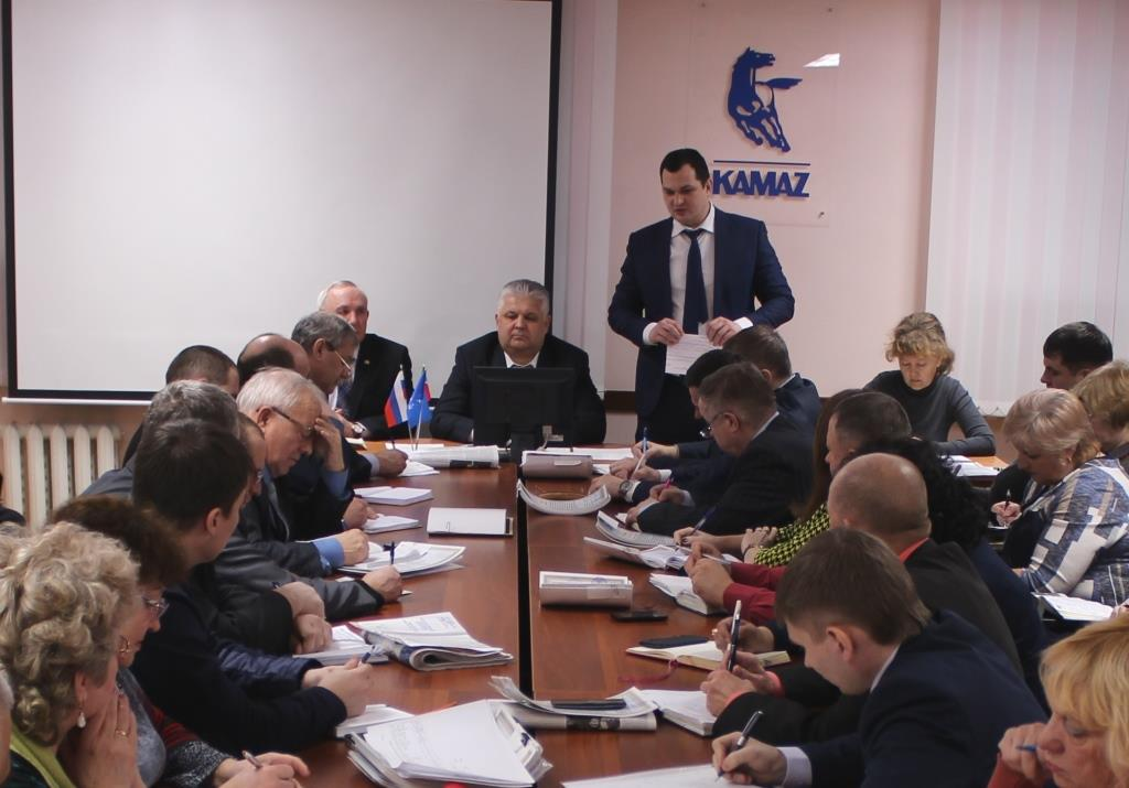 Очередное совещание профсоюзного актива «КАМАЗа»