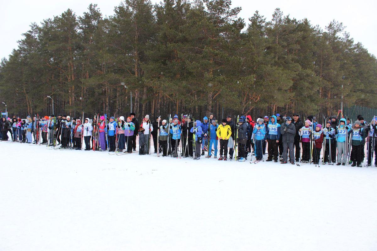 Первенство по лыжным гонкам  ПАО «КАМАЗ» 2017