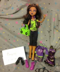 I heart fashion clawdeen