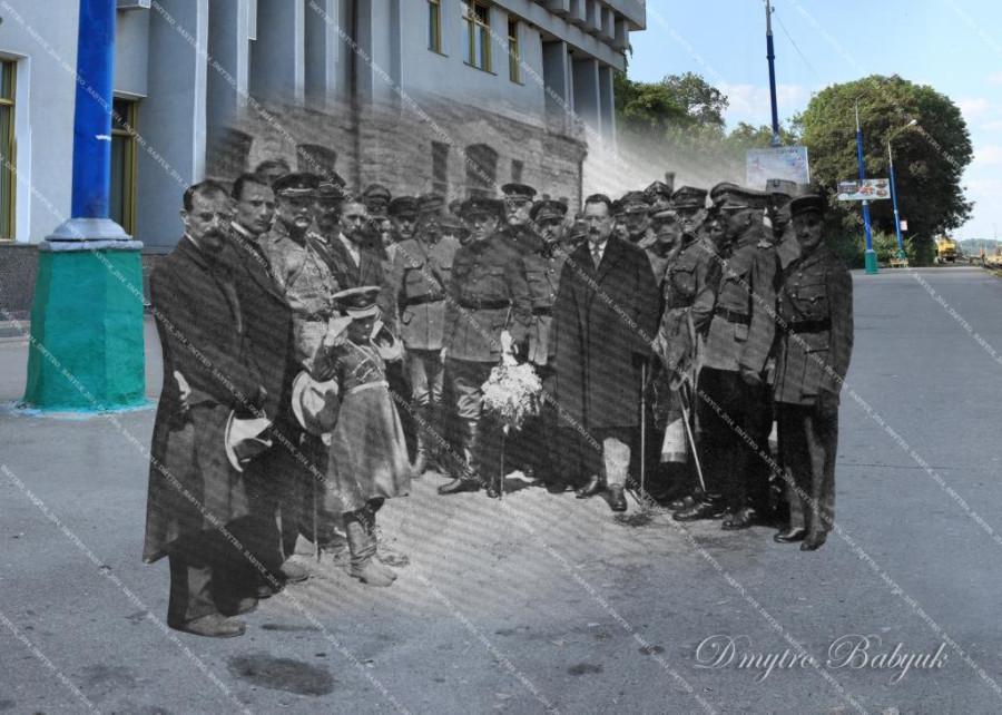 Зустріч С. Петлюри. 19192