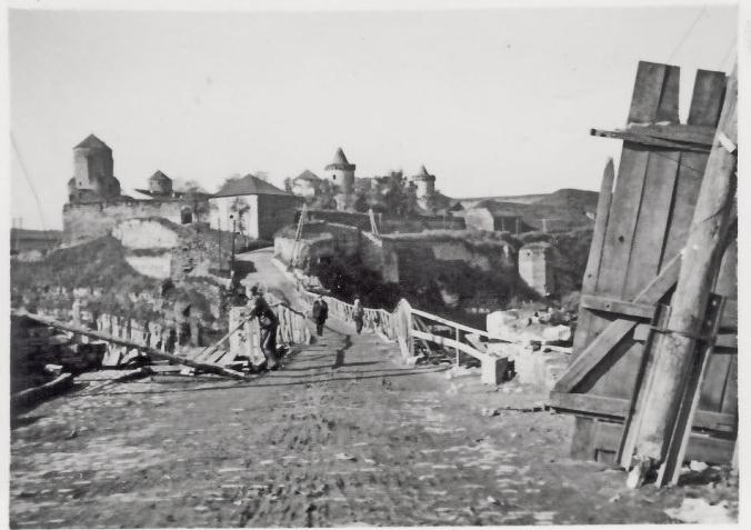 Каменец-Подольский в июле 1941 года
