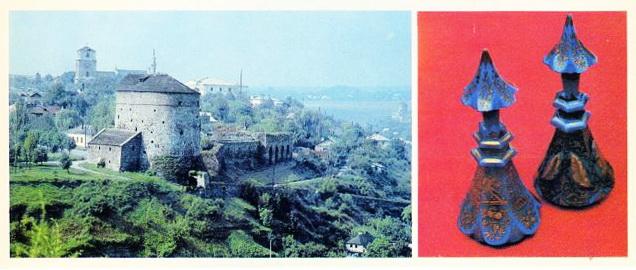 9. Вид на Старе місто із півночі. Графини-флакони у китайському стилі (ХІХ ст.)