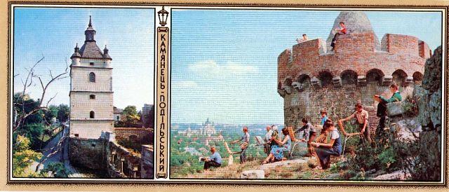 16. Вірменська дзвіниця Пам'ятка архітектури ХVII ст. На етюдах