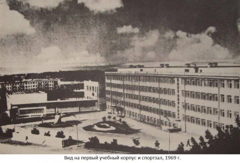 Каменец-Подольское военное училище на старых фотографиях