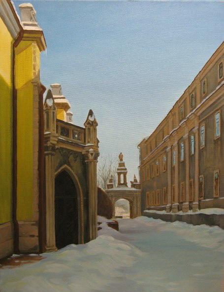 Кафедрал двор2010