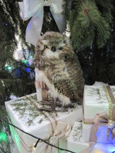 Новогодняя сова