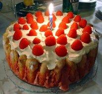 торт, день рождения