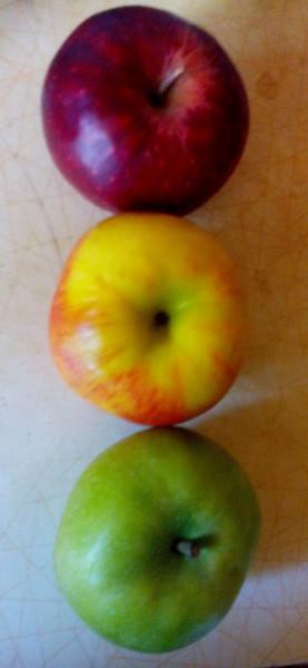 Яблочный светофор