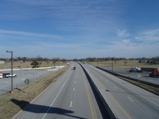 Will Rogers Turnpike from the Glass House McDonalds, Vinita, Oklahoma