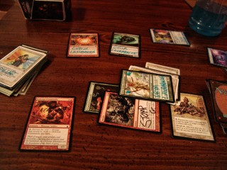 Proxied upon Magic: The Gathering Cards