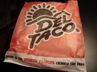 Del Taco - Home of the World Famous Crinkle Cut Fries