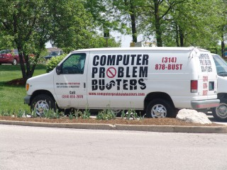 A van for the Computer Problem Busters