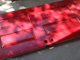 Newly-Red Door